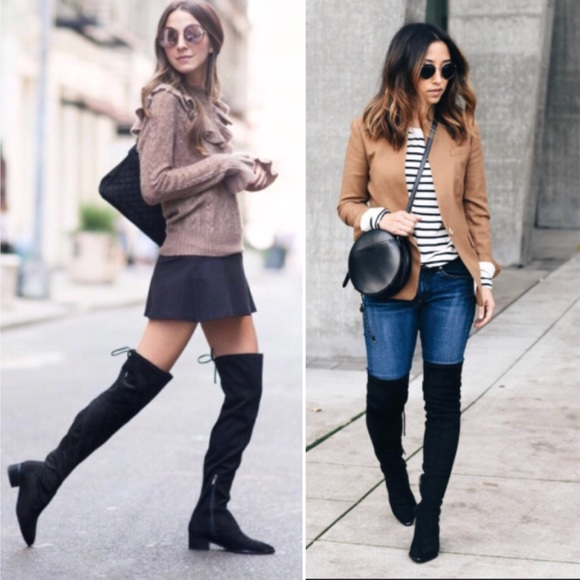 b8844f8ff0a Marc Fisher Yuna over the knee black boots